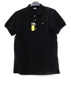 メンズ ディーゼル ワンポイント ポロシャツ ブラック M