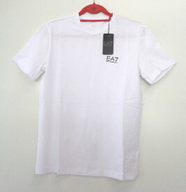 メンズ エンポリオ アルマーニ ワンポイント Tシャツ ホワイト L