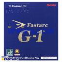 [送料無料 12時までのご注文を最短で当日発送] 卓球 ラバー Nittaku(ニッタク) ファスターク G-1 G1