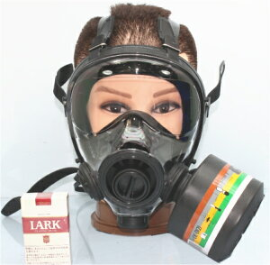 【SA-51111】SGE400/3 NATO軍 最新防毒マスク +フィルター1個セット