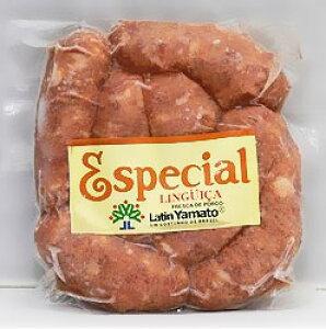 リングイッサ エスペシャル 500g 玉ねぎの甘みが加わった豚生ソーセージ!【冷凍便】