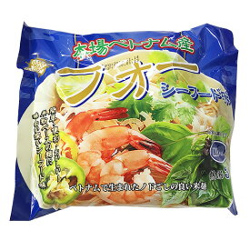 インターフレッシュ ベトナム産 フォー シーフード味 袋麺 60g インスタント