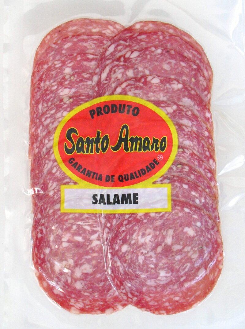 ソフトサラミ スライス Santo Amaro 80g 【冷蔵便】