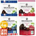 【送料無料※遠方除く・4袋セット】ブルックサイドダークチョコレート 235g×4袋 (3種より選択)