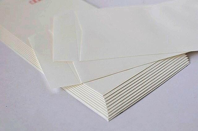 長3封筒 和紙(白大礼紙) 枠なし 500枚