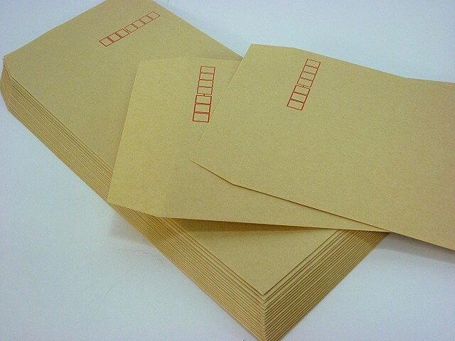 長3封筒 クラフト70g L貼 1,000枚