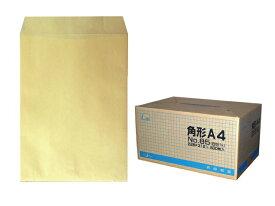 角A4封筒 クラフト 85g L貼/100枚 ☆小ロット