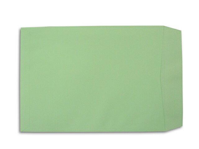 角A4封筒 ソフトグリーン 100g L貼 500枚
