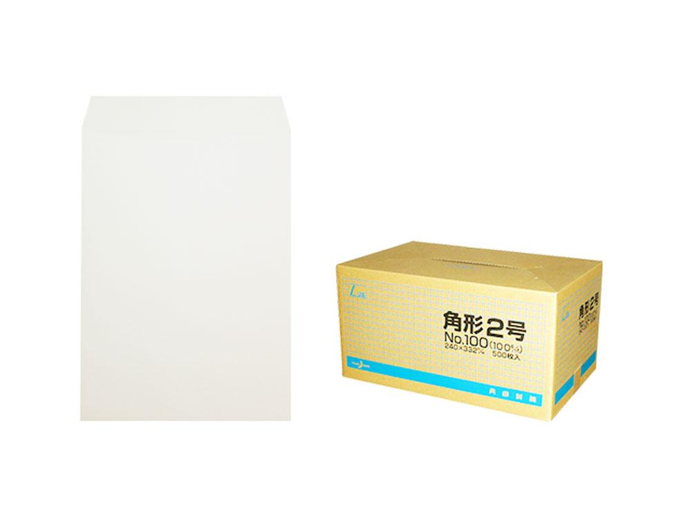 角2封筒 ハイケント80g L貼 /500枚