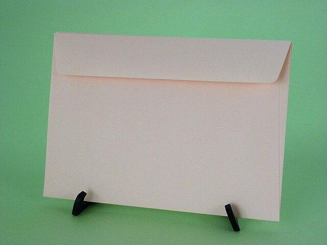 洋形2号カマス貼封筒 ソフトピンク80g枠なし/500枚
