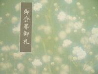 会葬礼状/紫雲カードかすみ草No32221,000枚