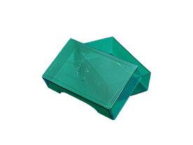 名刺 プラスチックケース 標準グリーン色200個