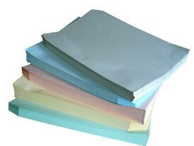 角2封筒 ソフトカラー100g L貼 5色セット (100枚×5品種)