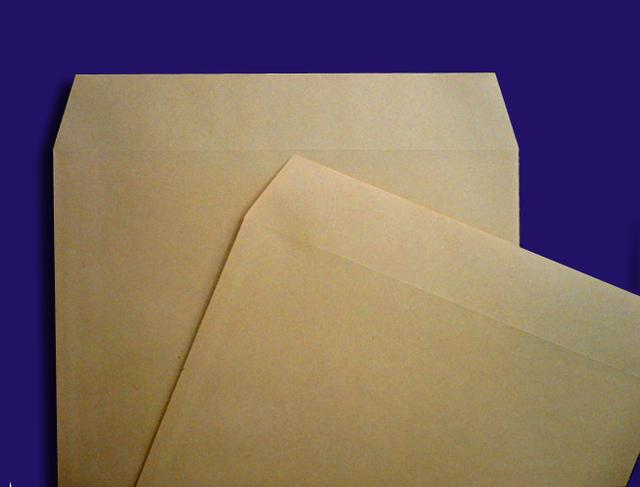 角3封筒 クラフト85g 中貼 枠なし / 500枚