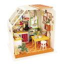 DG105 キッチン|Robotime 日本公式販売/日本語説明書付 DIY ミニチュアハウス ドールハウス