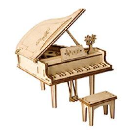 TG402 グランドピアノ|Robotime 日本公式販売/日本語説明書付 3D ウッドパズル