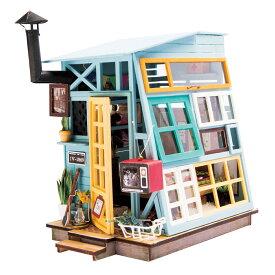 ミニチュアハウス ドールハウス DGM03 木の小屋|Robotime 日本公式販売/日本語説明書付 DIY 組み立てキット