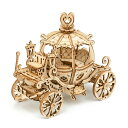TG302 馬車|Robotime 日本公式販売/日本語説明書付 3D ウッドパズル