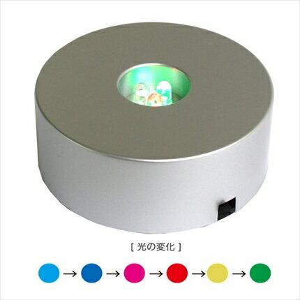 LEDライト 3灯丸型 単4乾電池付き 直径76mm| つくる楽しみ ハーバリウム