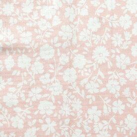 【NEW】 生地 FreeSpirit Fabrics フリースピリット ピンク地 白い小花・ペチュニア (最低単位30cm〜10cm単位の切り売り)| つくる楽しみ