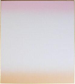 色紙 天地ボカシ(ピンク) 約27.3cm×24.2cm(大サイズ)