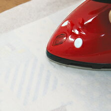 生地 生地の裏打ち材料 布用 ホットメルト紙 ( 裏打ち紙 ) 49cm巾×2m巻 薄手タイプ | つくる楽しみ
