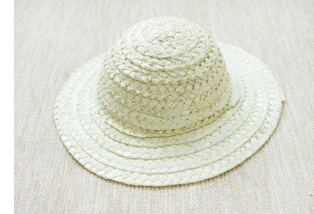 ミニハット 麦わら帽子 豆 ( 9.5cm ) CC-100 | つくる楽しみ