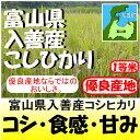 富山県入善産コシヒカリ新米29年産1等米30kg玄米