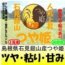 島根県石見銀山つや姫(減農薬)28年産1等米30kg玄米