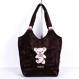 【送料無料】バッグ 横浜ナナ NANA ストリートバッグ ベア 茶ピンク