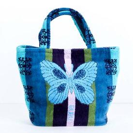 【送料無料】バッグ 横浜ナナ NANA ちょこバッグ B蝶 ブルー