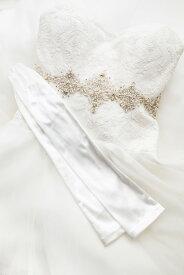 手袋 グローブ ブライダル ウェディング ウエディング アクセサリー 結婚式 2次会 披露宴 パーティー 小物 スパン 50cmホワイト/オフホワイト/ブラック/クリーム