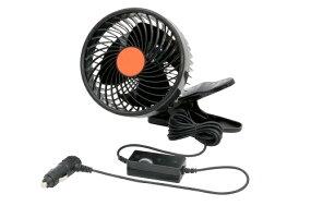 【夏季限定】車内で使える扇風機!涼しさひとりじめ【カーファン8インチ(DC24V専用)】