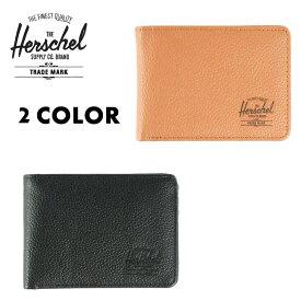 Herschel Supply ハーシェルサプライ ハーシェル 二つ折り財布 ウォレット / HANK LEATHER /2カラー展開 10049-00034-OS 10049-00004-OS   ハーシェルの財布 【t58】