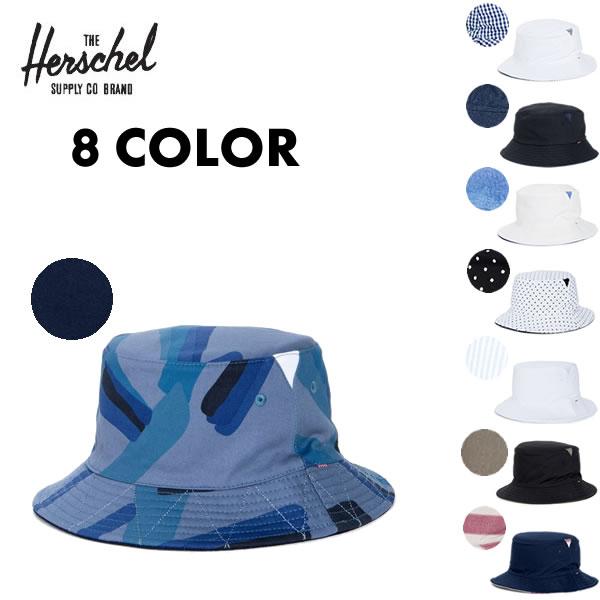 Herschel Supply ハーシェルサプライ ハーシェル リバーシブル バケットハット / LAKE / 8カラー展開 / HAT ユニセックス メンズ レディース 【t25】