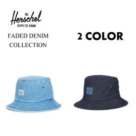 Herschel Supply ハーシェルサプライ ハーシェル リバーシブル バケットハット デニム / LAKE - DENIM/ 2カラー / メンズ レディース ユニセックス 帽子 HAT アウトドア かわいい おしゃれ  【t61】