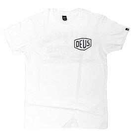 [正規品 無料ラッピング可] DEUS EX MACHINA ( デウスエクスマキナ ) / Tシャツ 半袖 / TOKYO ADDRESS TEE - WHITE / DMW41808R デウス エクス マキナ DEUSのTシャツ 【t27】