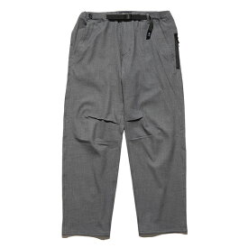 THE ROARK REVIVAL(ロアーク) / ウールパンツ ストレッチ素材 / RELAX TAPERED / WOOLY ST NEW TRAVEL PANTS - GREY/ RPJ552-GRY / メンズ【t78】