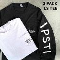 PACIFICSTANDARDTIME,PST,パシフィックスタンダードタイム,ピエトロ,ロンTEE,長袖Tシャツ,BLACK,黒,ブラック
