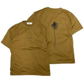 PACIFIC STANDARD TIME / 半袖ドライTシャツ / ALWAYS DRY PALM TREE TEE - DRAB / メンズ PST パシフィックスタンダードタイム 速乾Tシャツ ハイブリットTシャツ カリフォルニア ラッシュT ラッシュガード