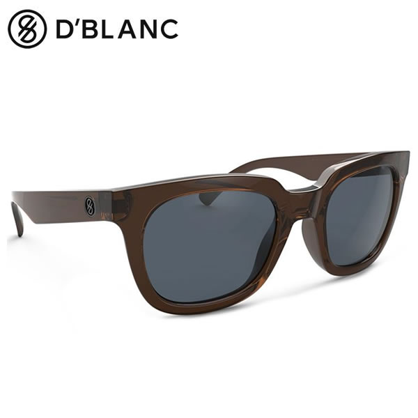 D'BLANC (ディーブランク) / サングラス SUNGLASS / インジェクションフレーム / Midnite Radio - Cocoa Gloss x Marine Gray 【t86】