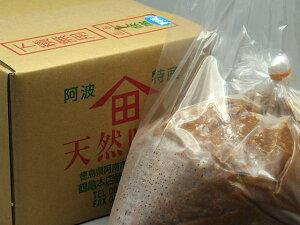 天然味噌『上』4Kg 箱入り 無添加 手作り 100%国産原材料使用[冷蔵便]