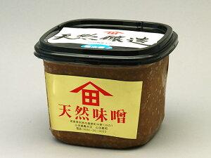 天然味噌『上』1Kg パック入り 無添加 手作り 100%国産原材料使用[冷蔵便]
