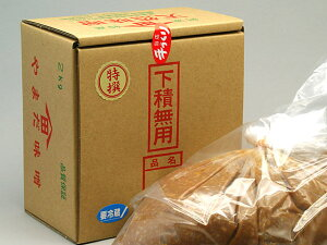 天然味噌『特撰』2Kg 箱入り 無添加 手作り 100%国産原材料使用[冷蔵便]
