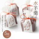 水羊羹5個入 北海道産小豆使用 鶴屋光信 京都 和菓子