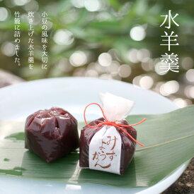 水羊羹5個入 北海道産小豆使用 京都 和菓子 京菓子 ギフト お土産 手土産