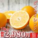 【sdaiya 10】ダイヤオレンジ 10kg【多少の枝傷・葉傷・黒点有り】【家庭用・サイズ込み】【送料無料】みかん 吉田みかん 伊予柑 大谷…