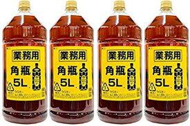 【送料無料】サントリー 角瓶 5L 4本 業務用ペット 5000ml ウイスキー