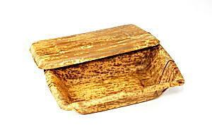 [業務用] 1段の竹製 使い捨て弁当容器竹皮容器(大)50個入り弁当(お弁当)のテイクアウトに竹皮の弁当箱。お昼のお弁当箱に使い捨て弁当箱。男性、女性、子供にもおしゃれなお弁当パック。