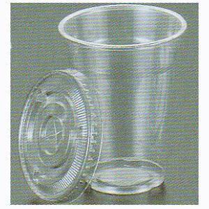 【業務用】【透明蓋付きセット】フジプラコップ9オンス【100個入り】【275cc(275ml)】【材質:APET】
